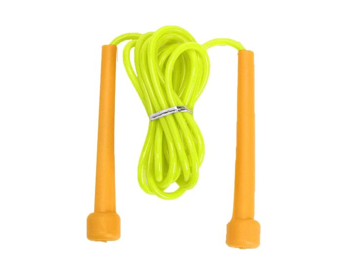 Skipping Rope Crossfit PVC Σχοινάκι Γυμναστικής Yellow