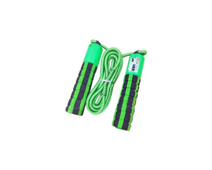 Skipping Rope with Jump Counter Σχοινάκι Γυμναστικής Green