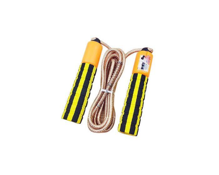 Skipping Rope with Jump Counter Σχοινάκι Γυμναστικής Yellow