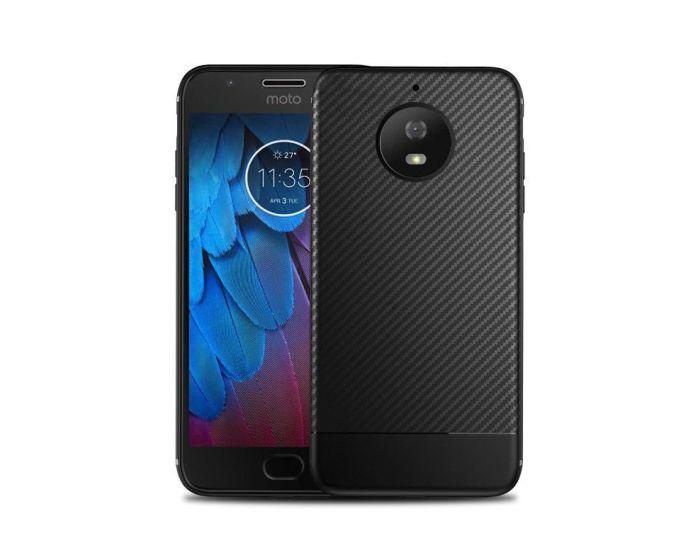 TECH-PROTECT Carbon Rugged Armor Case - Black (Motorola Moto G5s Plus)