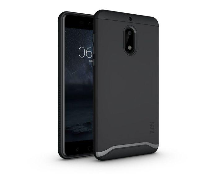 TUDIA Ανθεκτική Θήκη - Black (Nokia 6)