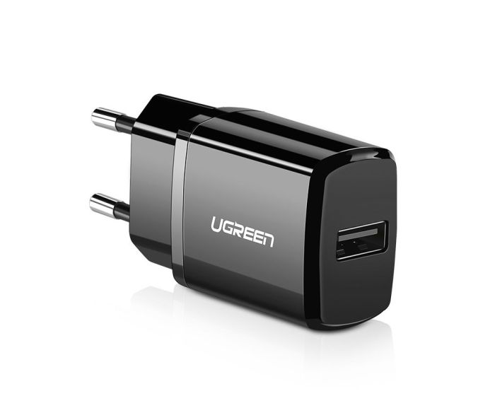 UGREEN Wall Charger USB 2.1A (50459) Αντάπτορας Φόρτισης - Black