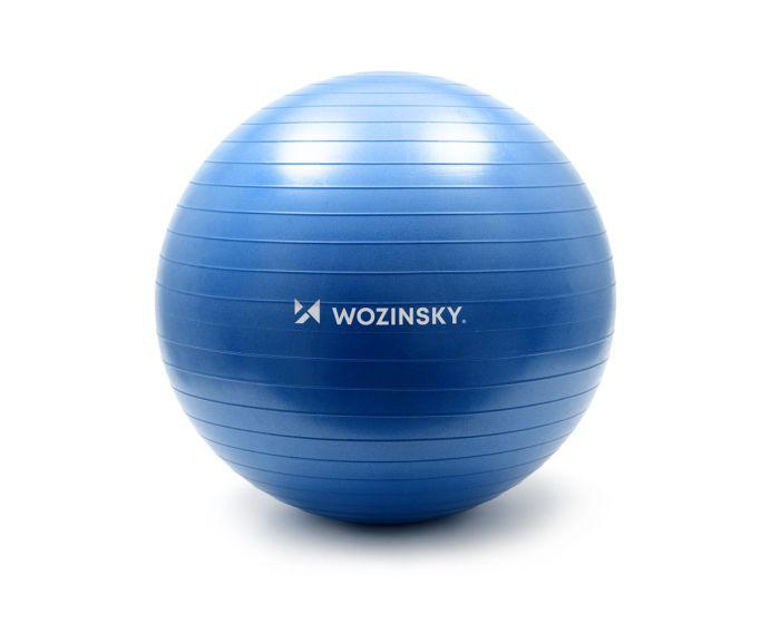 Wozinsky Gymnastic Exercise Ball 65cm Μπάλα Γυμναστικής - Blue