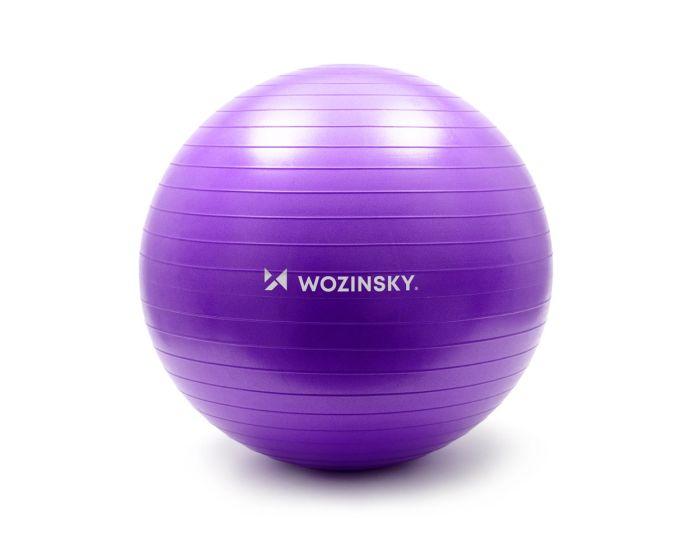 Wozinsky Gymnastic Exercise Ball 65cm Μπάλα Γυμναστικής - Purple