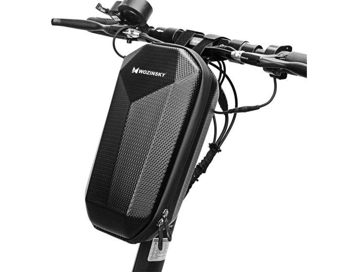 Wozinsky Waterproof Hardpouch for Electric Scooter 4L (WSB2BK) Μπροστινή Τσάντα Αποθήκευσης Black