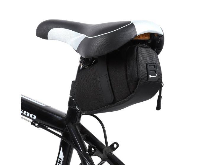 Wozinsky Saddle Bicycle Bag 0.6L (WBB8BK) Τσαντάκι Σέλας Ποδηλάτου Black