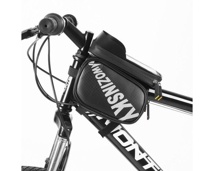 Wozinsky Bike Front Storage Detachable Bag (WBB21BK) Τσαντάκι Ποδηλάτου με Θέση για Smartphone - Black