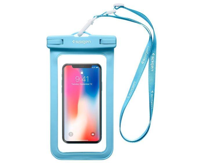 Spigen® Velo™ A600 Universal Waterproof Phone Case - Αδιάβροχη Θήκη για Κινητά έως 6'' (000EM23354-1) Blue