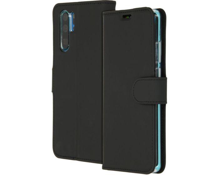 Accezz Booklet Wallet Case Θήκη Πορτοφόλι με Stand - Black (Huawei P30 Pro)