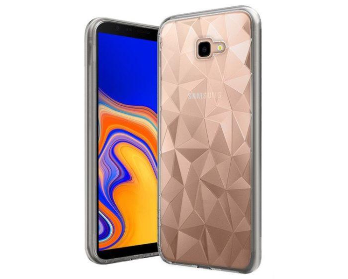 Forcell Air Prism 3D Pattern Flexible Θήκη Σιλικόνης Clear (Samsung Galaxy J4 Plus 2018)