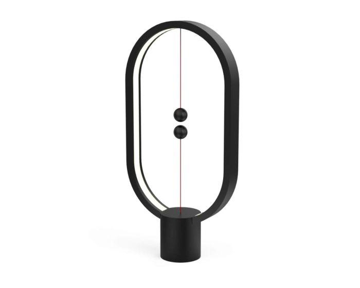 Allocacoc Heng Balance Plastic Lamp Ellipse Φωτιστικό με Πρωτότυπο Διακόπτη από Μαγνήτες - Black