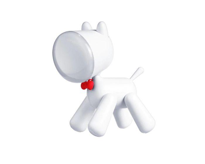 Allocacoc PuppyLamp Janpim Επιτραπέζιο Φωτιστικό Κουτάβι με Διακόπτη - White