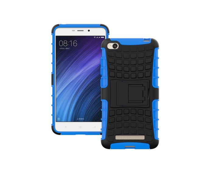 Forcell Shockproof Kickstand Case Ανθεκτική Θήκη με Δυνατότητα Στήριξης Blue (Xiaomi Redmi 4A)