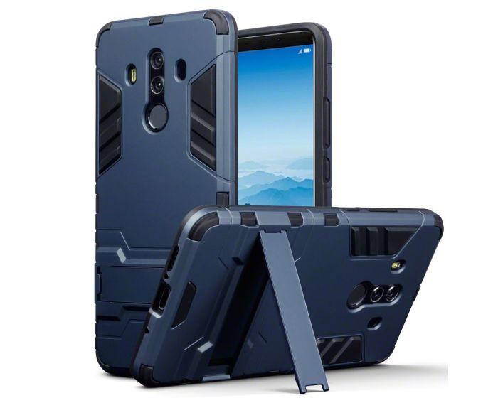 Terrapin Ανθεκτική Θήκη με stand (131-083-046) Μπλε (Huawei Mate 10 Pro)