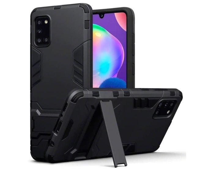 Terrapin Ανθεκτική Θήκη με stand (131-002-266) Μαύρο (Samsung Galaxy A31)