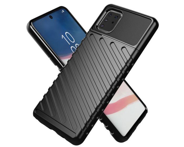 Anti Shock Rugged Armor Thunder Tough Case Black (Samsung Galaxy S10 Lite)