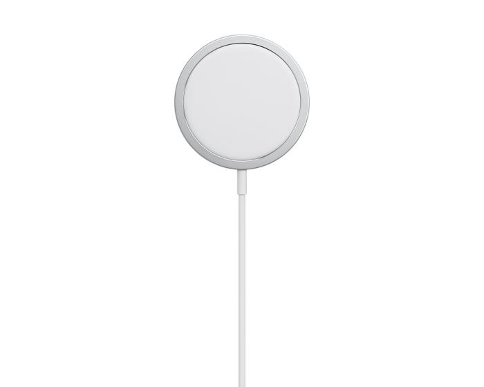 Apple MagSafe Charger 15W (MHXH3) Ασύρματος Φορτιστής - White
