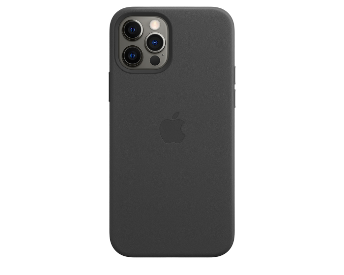 Apple Official Leather Case (MHKG3ZM/A) with MagSafe Black (iPhone 12 / 12 Pro)
