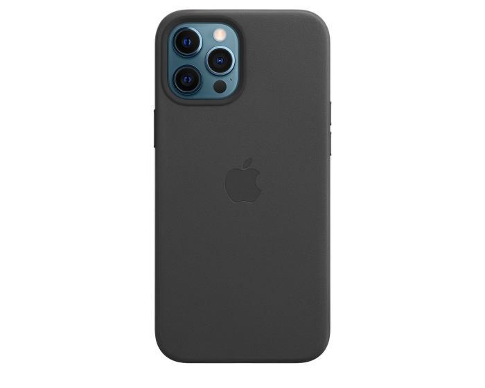 Apple Official Leather Case (MHKM3ZM/A) with MagSafe Black (iPhone 12 Pro Max)