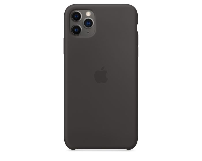 Apple Official Silicon Cover (MX002ZM/A) Θήκη Σιλικόνης Black (iPhone 11 Pro Max)