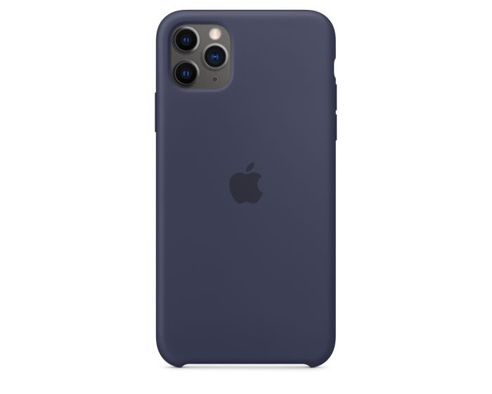 Apple Official Silicon Cover (MWYW2ZM/A) Θήκη Σιλικόνης Midnight Blue (iPhone 11 Pro Max)