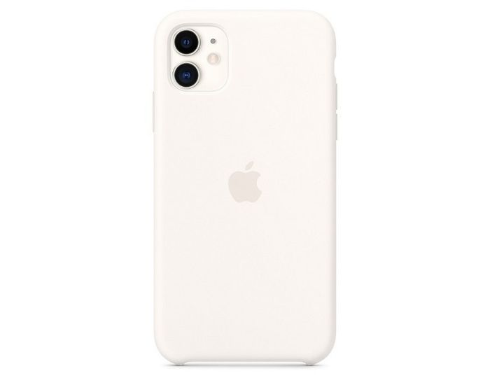 Apple Official Silicone Cover (MWYX2ZM/A) Θήκη Σιλικόνης White (iPhone 11 Pro Max)