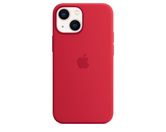 Apple Official Silicone Case (MM233ZMA) with MagSafe Product Red (iPhone 13 Mini)