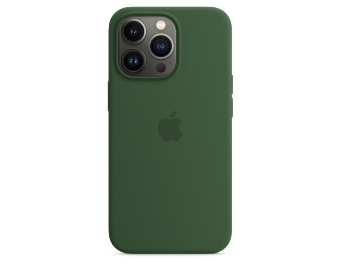 Apple Official Silicone Case (MM2F3ZMA) with MagSafe Clover (iPhone 13 Pro)