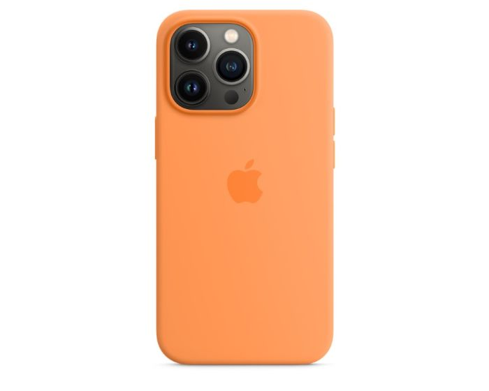Apple Official Silicone Case (MM2D3ZMA) with MagSafe Marigold (iPhone 13 Pro)