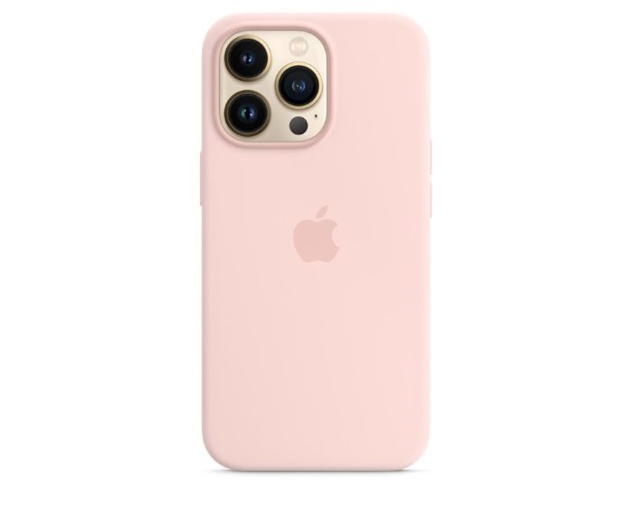 Apple Official Silicone Case (MM2H3ZMA) with MagSafe Chalk Pink (iPhone 13 Pro)