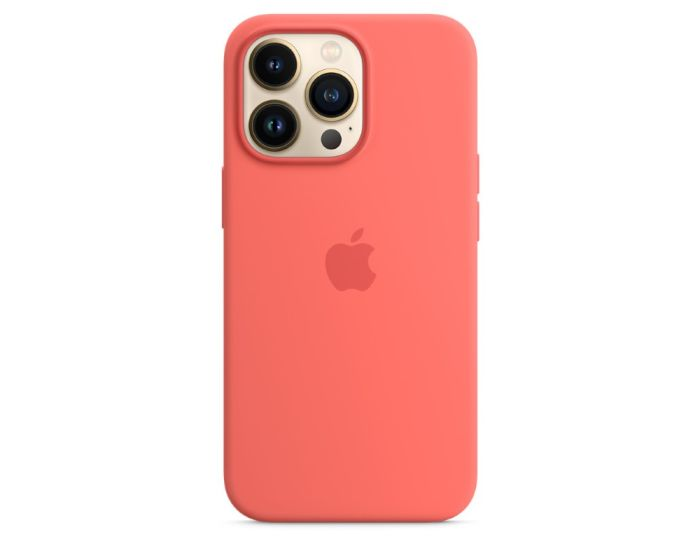 Apple Official Silicone Case (MM2E3ZMA) with MagSafe Pink Pomelo (iPhone 13 Pro)
