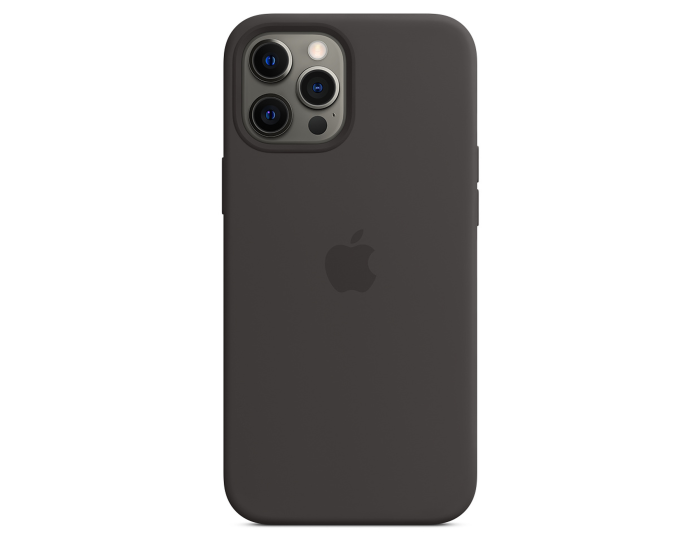 Apple Official Silicone Case (MHLG3ZM/A) with MagSafe Black (iPhone 12 Pro Max)