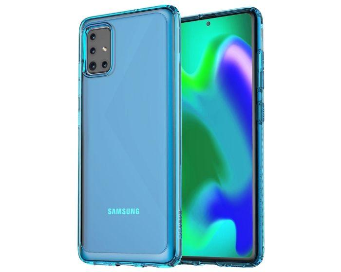 Araree A Cover Ανθεκτική Θήκη Σιλικόνης Blue (Samsung Galaxy A51)