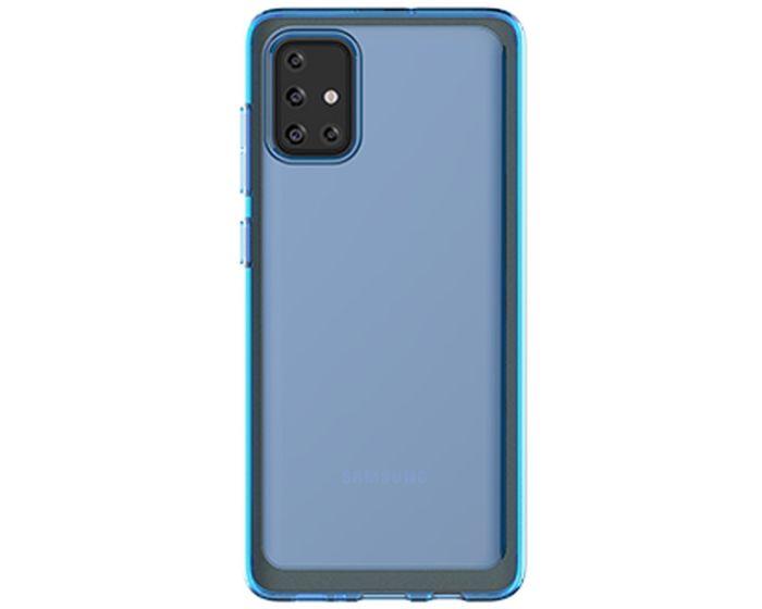 Araree A Cover Ανθεκτική Θήκη Σιλικόνης Blue (Samsung Galaxy A71)