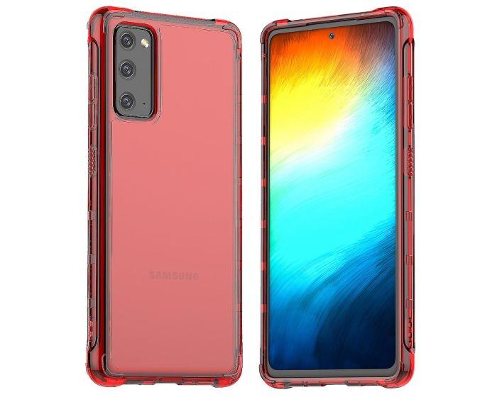 Araree Mach Case Ανθεκτική Θήκη Σιλικόνης Red (Samsung Galaxy S20 FE)