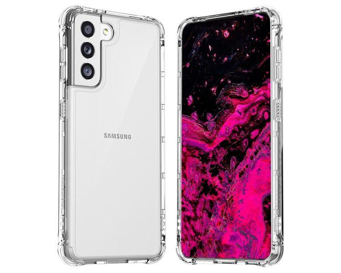 Araree Mach Case Ανθεκτική Θήκη Σιλικόνης Clear (Samsung Galaxy S21 5G)