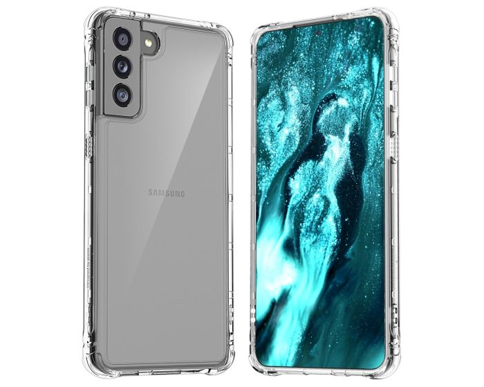 Araree Mach Case Ανθεκτική Θήκη Σιλικόνης Clear (Samsung Galaxy S21 Plus 5G)