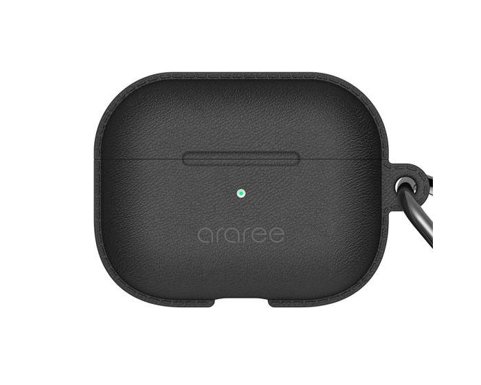 Araree Pops PU Leather AirPods Pro Case Θήκη για Apple Airpods Pro - Black