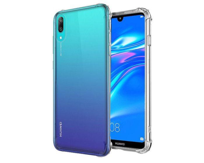 Roar Armor Jelly Case Ανθεκτική Θήκη Σιλικόνης Clear (Huawei Y7 2019 / Y7 Prime 2019)