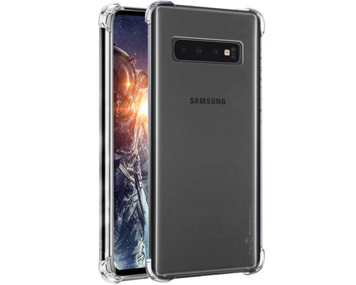 Roar Armor Jelly Case Ανθεκτική Θήκη Σιλικόνης Clear (Samsung Galaxy S10)