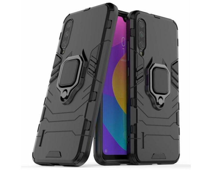Armor Ring Tough Case Ανθεκτική Θήκη με Kickstand - Black (Xiaomi Mi A3 Lite)