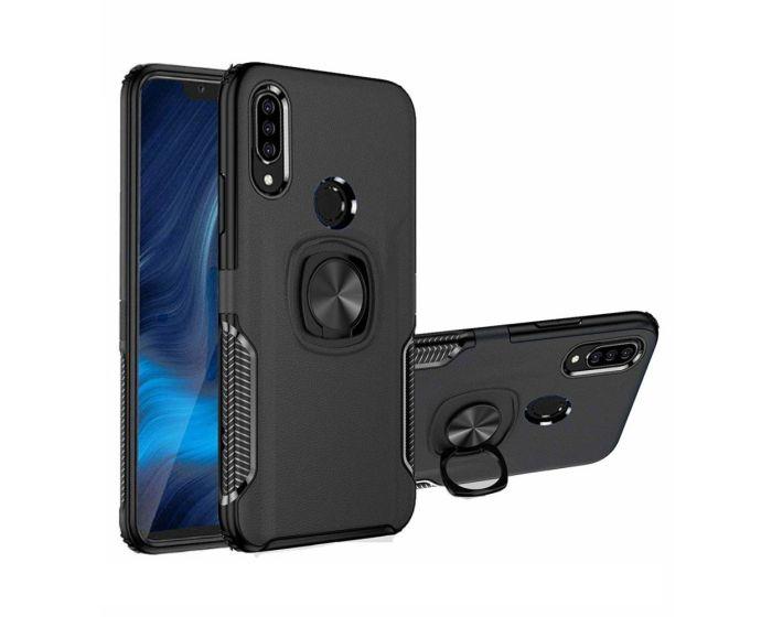 Armor Ring Tough Case Ανθεκτική Θήκη με Kickstand - Black (Xiaomi Mi9 Lite)