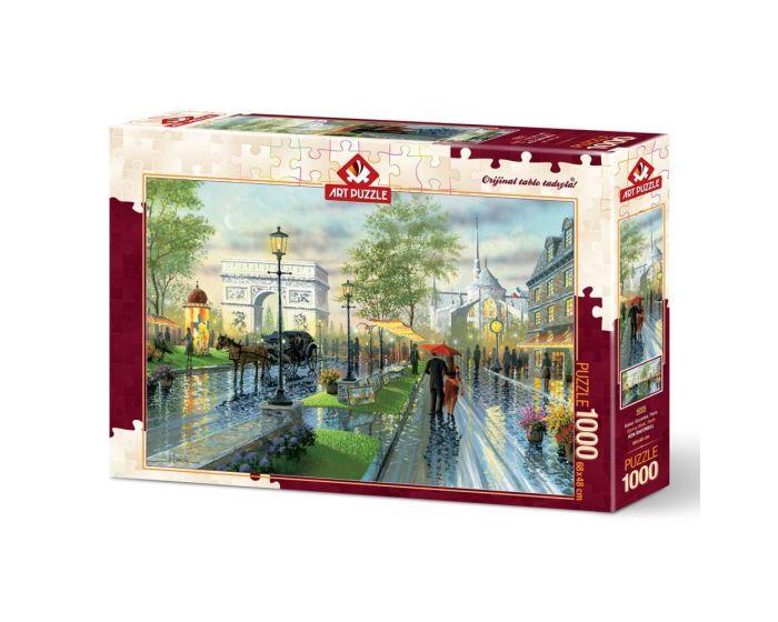 Art Puzzle 1000 Τμχ Puzzle Spring Walk, Paris - Ken Shotwell