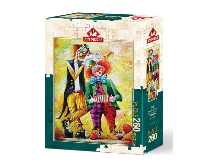 Art Puzzle 260 Τμχ Puzzle The Musician Clowns - Yuri Matsik