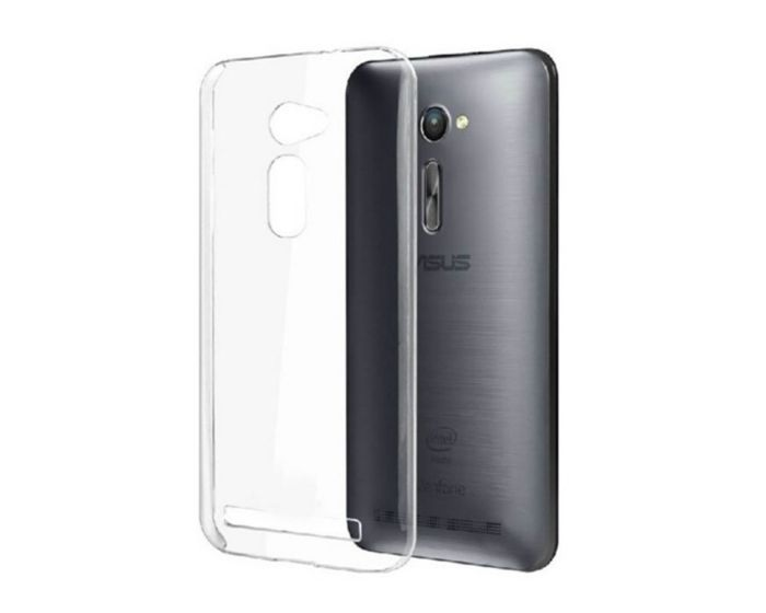Ultra Thin 0.3mm Silicone Case Διάφανη (ASUS ZenFone 2 ZE500CL)