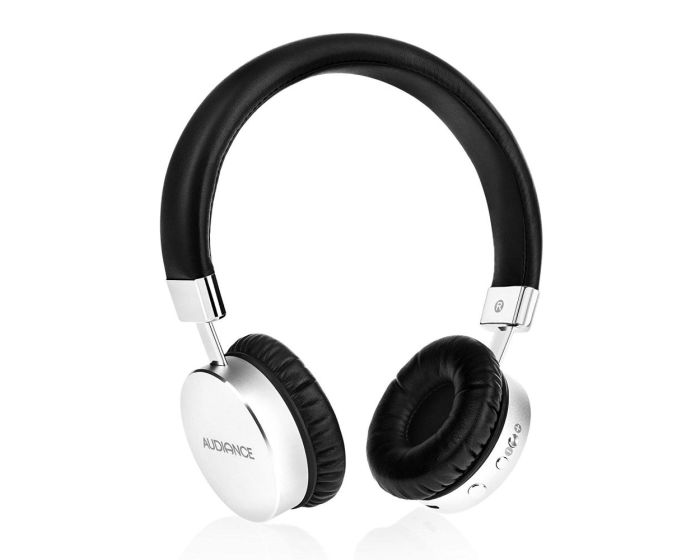 Audiance Premium Bluetooth Gaming Headphones M1-BT Ασύρματα Στερεοφωνικά Ακουστικά Silver / Black