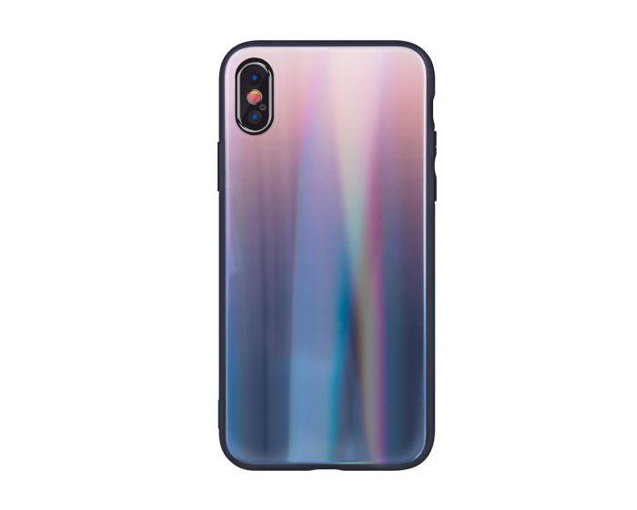 Aurora Glass TPU Case Brown / Black (iPhone XR)