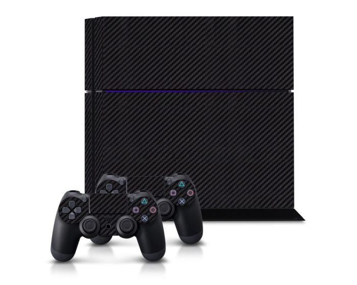 KWmobile Sticker (38502.02) Carbon Pattern (PlayStation 4)