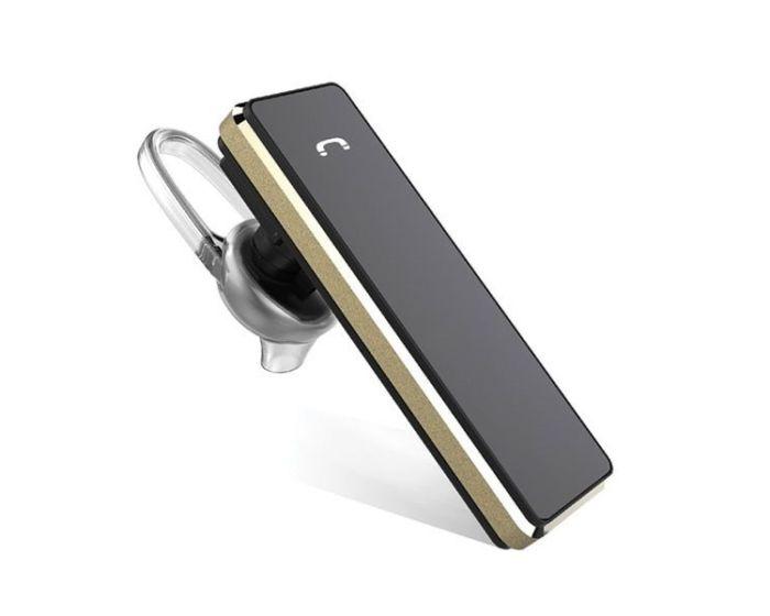 AWEI A850BL In-Ear Wireless Bluetooth Earphone Ασύρματο Ακουστικό - Black / Gold