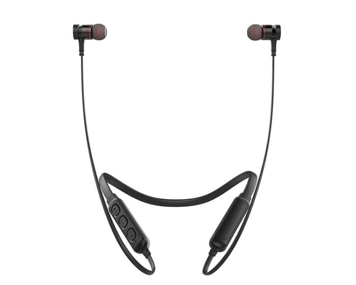AWEI G10 Bluetooth Sports Magnetic Earphones Ασύρματα Ακουστικά Black